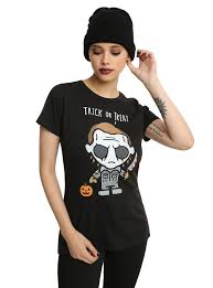 spirit halloween michael myers costume halloween michael myers chibi girls t shirt topic