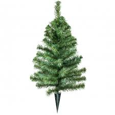 24 small cemetery pine tree with stake xt4665 craftoutlet com