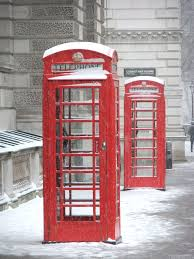 red phone boxes in snow two old red phone boxes in snow flickr