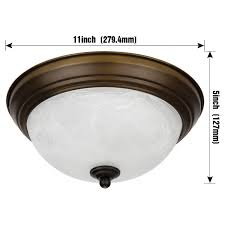 Flush Mount Ceiling Fixture Dimmable 11 Inch Led Flush Mount Ceiling Light Fixture 15w 80w