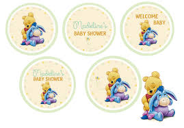 winnie the pooh baby shower cake decorations home party theme ideas