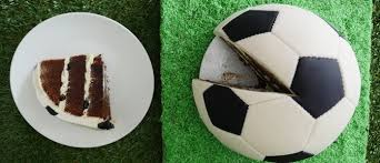 howtocookthat cakes dessert u0026 chocolate soccer ball cake