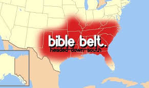 map usa bible belt living in the bible belt toonerdygirls