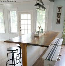 Dining Room Craft Room Combo - not your average barn wood table it u0027s a barble hometalk