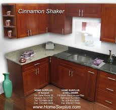 Kitchen Cabinet Surplus by Cinnamon Shaker Cabinets Home Surplus