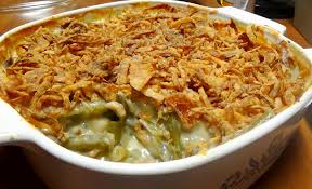 classic recipe for green bean casserole with of