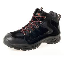 impressionz mens hiking boots walking ankle high top trail