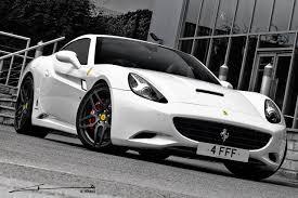 Ferrari California In White - ferrari california gets monza edition from project kahn
