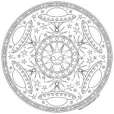 don u0027t eat the paste alien mandala to print and color