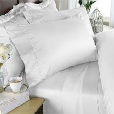 Luxury White Bed Linen - how to create a five star bed for less