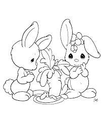 printable rabbit coloring pages for kids sheet animal face in a