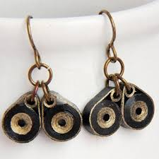 eco friendly earrings eco friendly earrings owl niobium by honeysquilling on zibbet