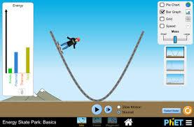 energy skate park basics conservation of energy kinetic