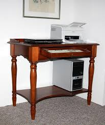 Schreibtisch Kolonialstil Sekretär 100x80x60cm Tastaturauszug Schublade Ablageboden
