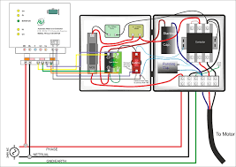 variable frequency drive symbol and vfd starter wiring diagram in