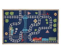 Airplane Rug Boys Airplane Room Bedding And Decor Pottery Barn Kids