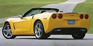 2006 corvette convertible 2006 chevrolet corvette convertible 2d at 6 spd specs and