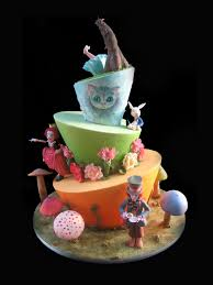 Mad Hatter Decorations Awe Inspiring Mad Hatter Cakes