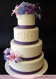 stargazer lilies wedding cake wedding cakes