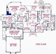home plans with inlaw suites 5 bedroom 4 bath southern house plan alp 099u allplans com