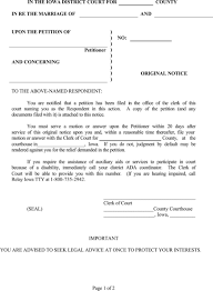 iowa divorce forms business form templates