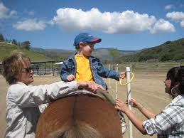 carousel ranch equestrian therapy for disabled children