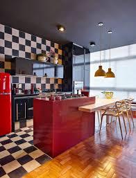 Black White Kitchen Interior Design by Black White And Red Kitchen Design Ideas 6572 Baytownkitchen