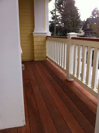mahogany decks all pro painting co this is a brand new mahogany