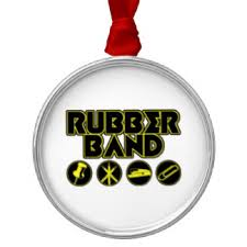 rubber band ornaments keepsake ornaments zazzle