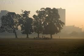 Seeking Kolkata A Typical Winter Kolkata Maidan