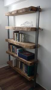 Dark Wood Bookshelves by 31 Magnificent Reclaimed Wood Shelves