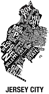 Map Of Jersey City Jersey City List Re Map Of Jc With Neighborhoods Real Estate