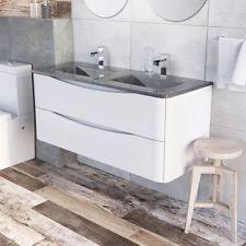 Double Basin Vanity Double Vanity Unit Home Furniture U0026 Diy Ebay