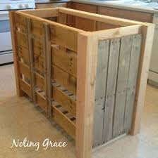 diy pallet kitchen island for less than 50 pallet kitchen
