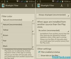 what does blue light filter do protect eyes from blue light with bluelight filter for android