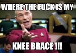 Brace Meme - meme creator where the fuck is my knee brace meme generator at