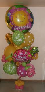 balloon delivery new jersey 60 best balloons get well images on balloon bouquet