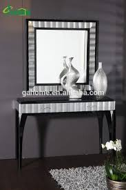 console table and mirror set black console table mirror set bryan mudryk
