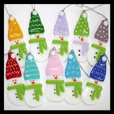 82 best fused glass ornaments images on fused glass