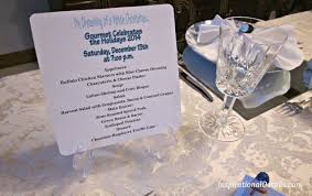 white christmas u201d dinner party inspirational details