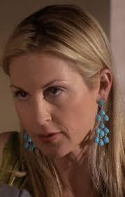 gossip girl earrings der woodsen s turquoise earrings from gossip girl