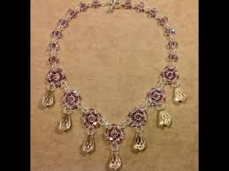 crystal necklace patterns images Crystal drops necklace tutorial jpg