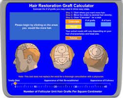 hair graft calculator
