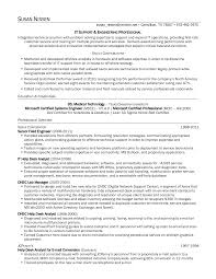 Proprietary Trading Resume Sample Technical Support Specialist Resume Resume Templates