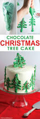 chocolate christmas tree cake mom loves baking