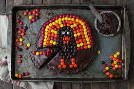 chocolate brownie turkey tart the year