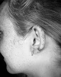 best 25 ear tattoos ideas on pinterest behind ear tattoos
