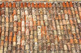 Mediterranean Roof Tile Traditional Old Roof Tiles On Mediterranean Houses As Texture