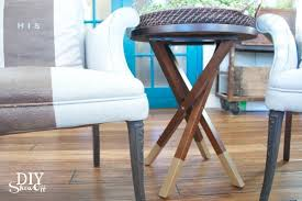 Dining Room Chair Legs Diy Gold Dipped Furniture Legs Diy Show Off Diy Decorating