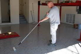 Paint Concrete Floor Ideas by Ucoat It Epoxy Floor Coating Install Photo 24 Garage Pinterest